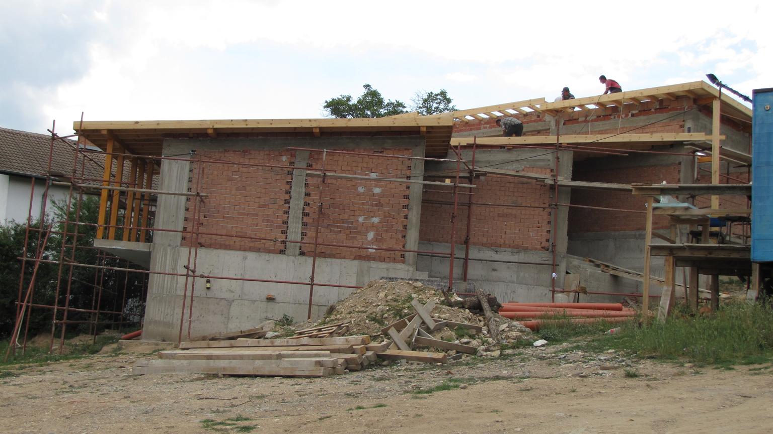 Къща за гости по програма за развитие на селските райони 2014-2020г. по време на изпълнение