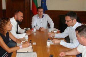 Ивайло Здравков от БАБЕП се срещна с председателя на КЕВКЕФ Кристиан Вигенин